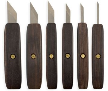Pfeil Knives, with Rosewood Handle