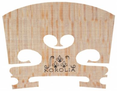 KOROLIA*** Violin Bridge, Precut, Low