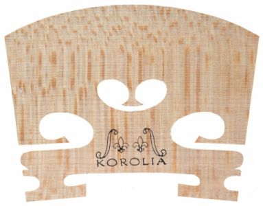 KOROLIA** Violin Bridge, Precut, Low